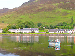 Picturesque Dornie Village
