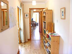 Hallway of Falcon's Cliff self catering