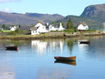 The nearby village of Plockton